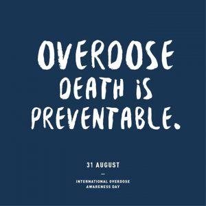 Overdose Awareness Day 3