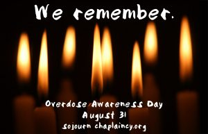 Overdose Awareness Day Sojourn
