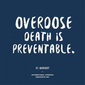 Overdose Awareness Day 3